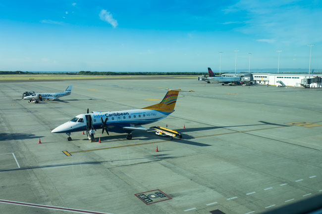 Kingston Airport is one of the three international airports in the Caribbean island.