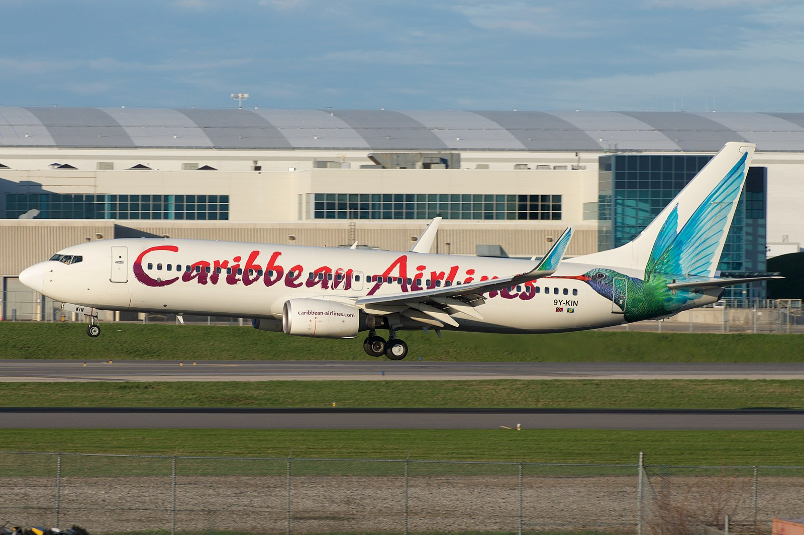 KIN Airport is a hub for Caribbean Airlines.